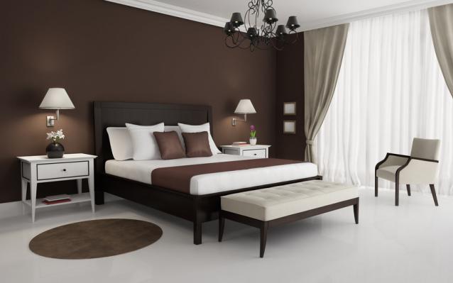 Dormitorios en marr n dormitorios con estilo - Colores pared dormitorio ...