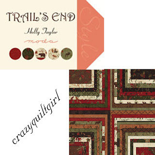 Moda TRAIL'S END Quilt Fabric by Holly Taylor