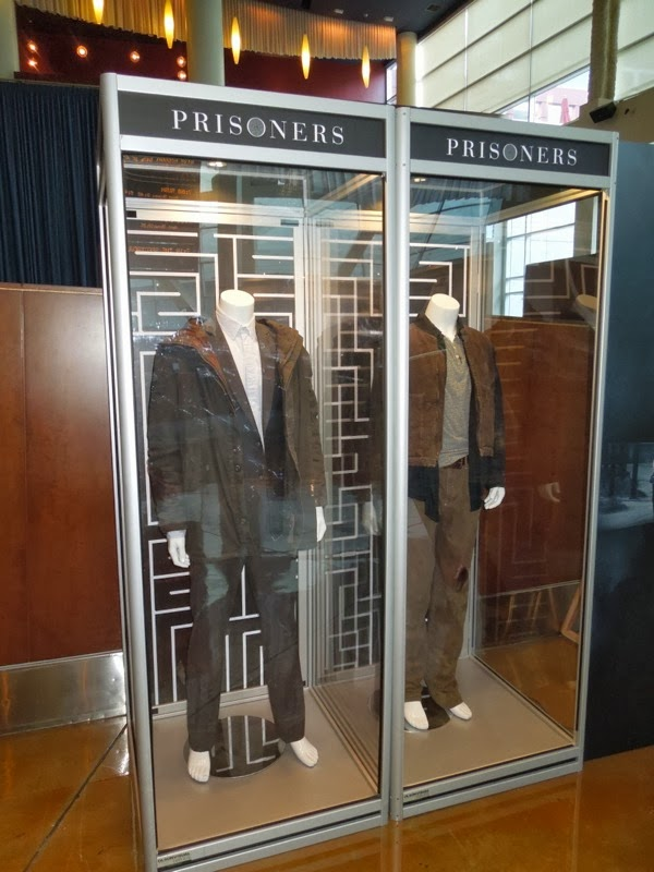 Prisoners movie costume display