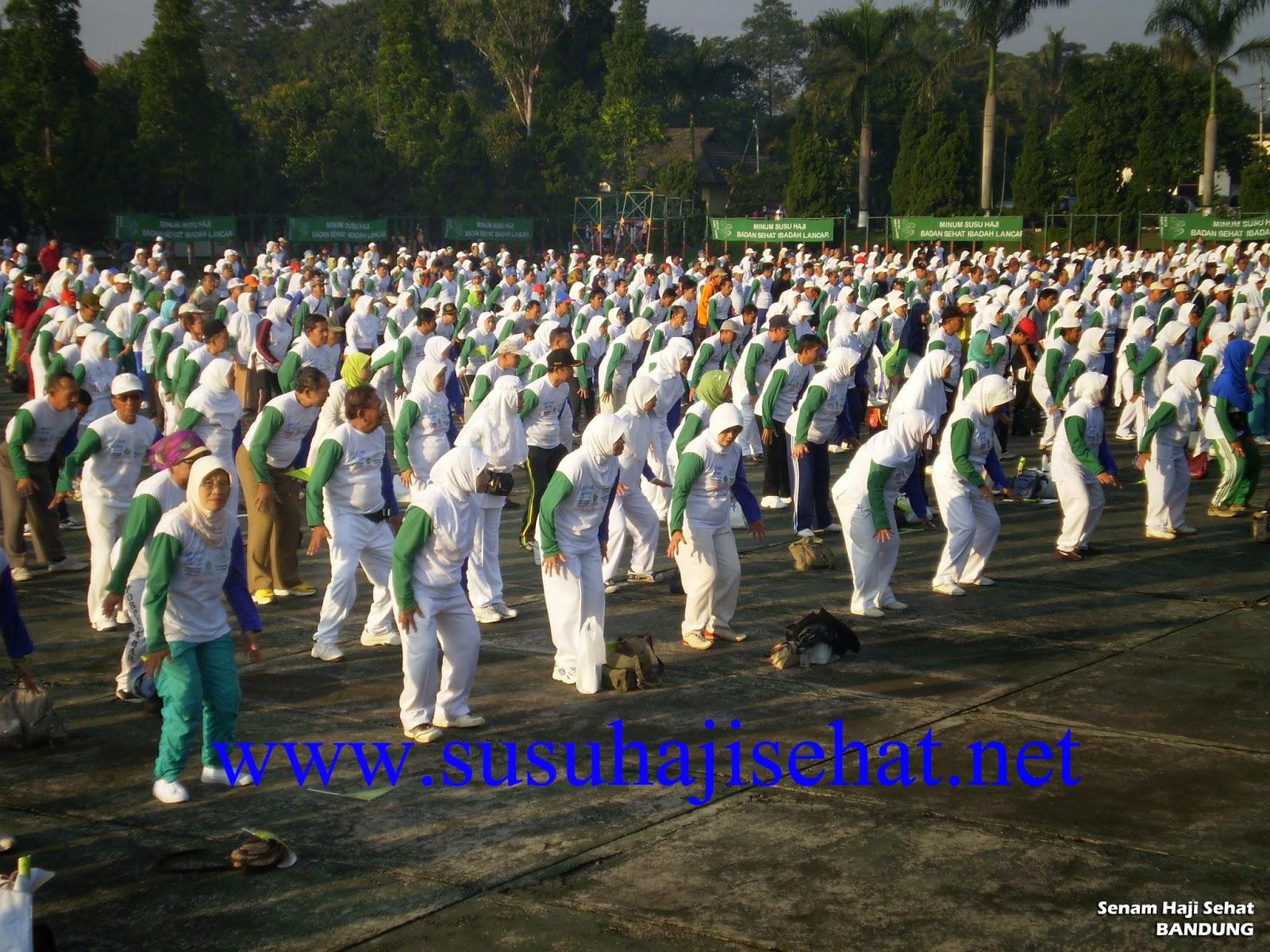 Senam Susu Haji Sehat Bandung