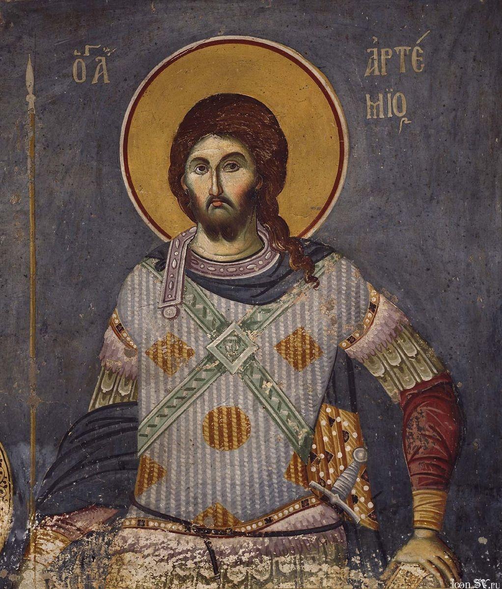 Молитва великомученику артемию от грыжи