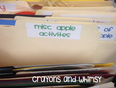 crayons and whimsy filing organization