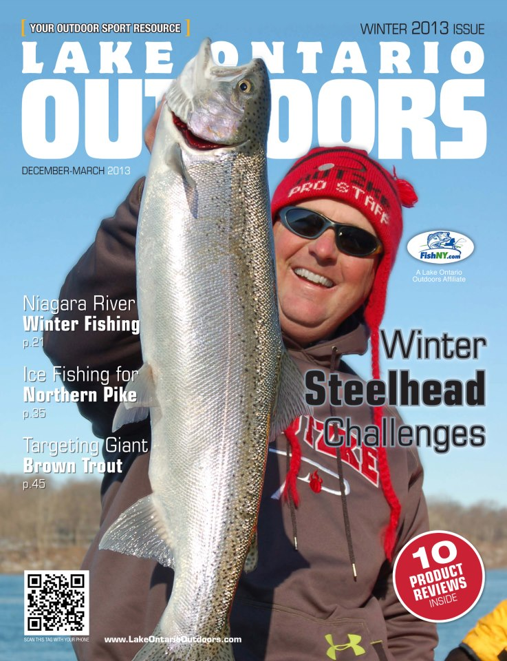Steelhead alley angler lake ontario outdoors for Franks great outdoors fishing report