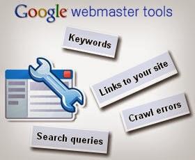 Mendaftarkan blog di google webmasters tool