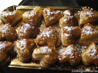 Hojaldrillos de miel de caña