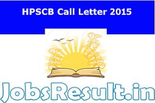 HPSCB Call Letter 2015