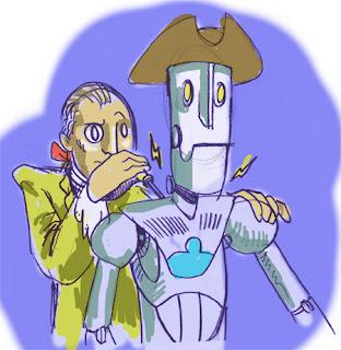 A Ben and his Robot