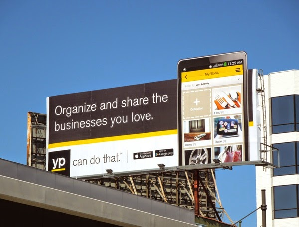 businesses you love YP extension billboard