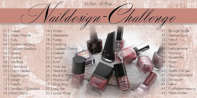 Naildesign Challenge Winter 2013 - Ankündigung
