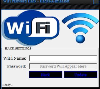 wifi password: