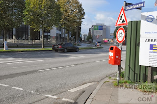 Budapester Straße / Heiligengeistfeld - Baustelle