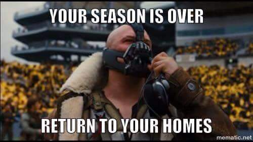 your season is over return to your homes.- #TheDarkKnight,#bane,