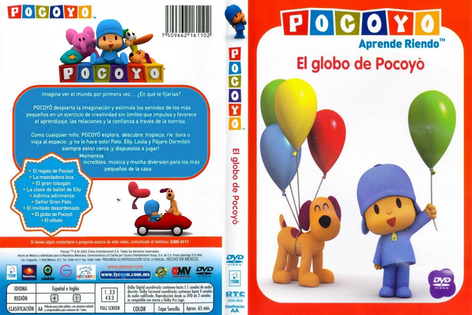 Catalogo Infantil Pocoyo El Globo De Pocoyo