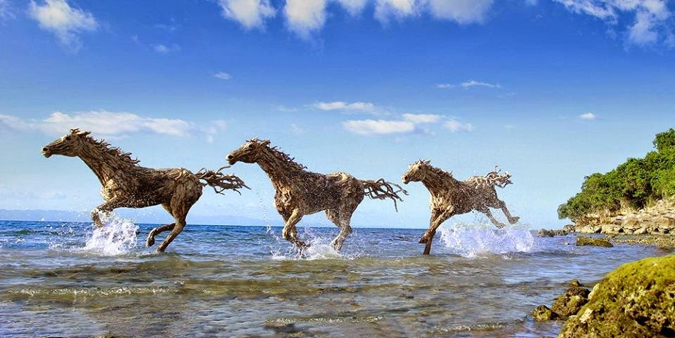 An Interview with the Driftwood Sculptor James Doran-Webb