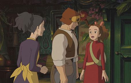 The secret world of arrietty movie english dub