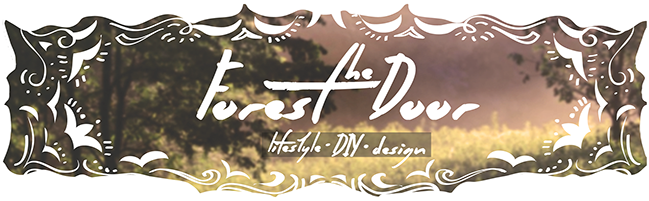 The Forest Door - a lifestyle, DIY, and design blog