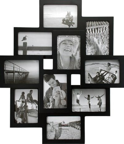 10-Slot Collage Picture Frames