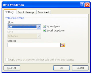 excel validations
