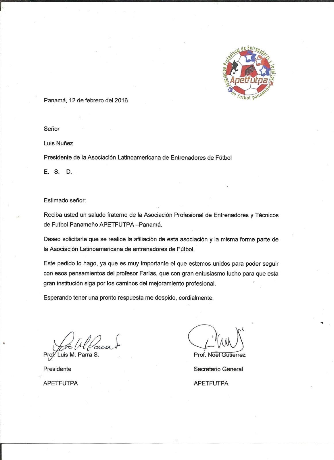 Asociación Latinoamericana de Entrenadores de Fútbol: julio 2016