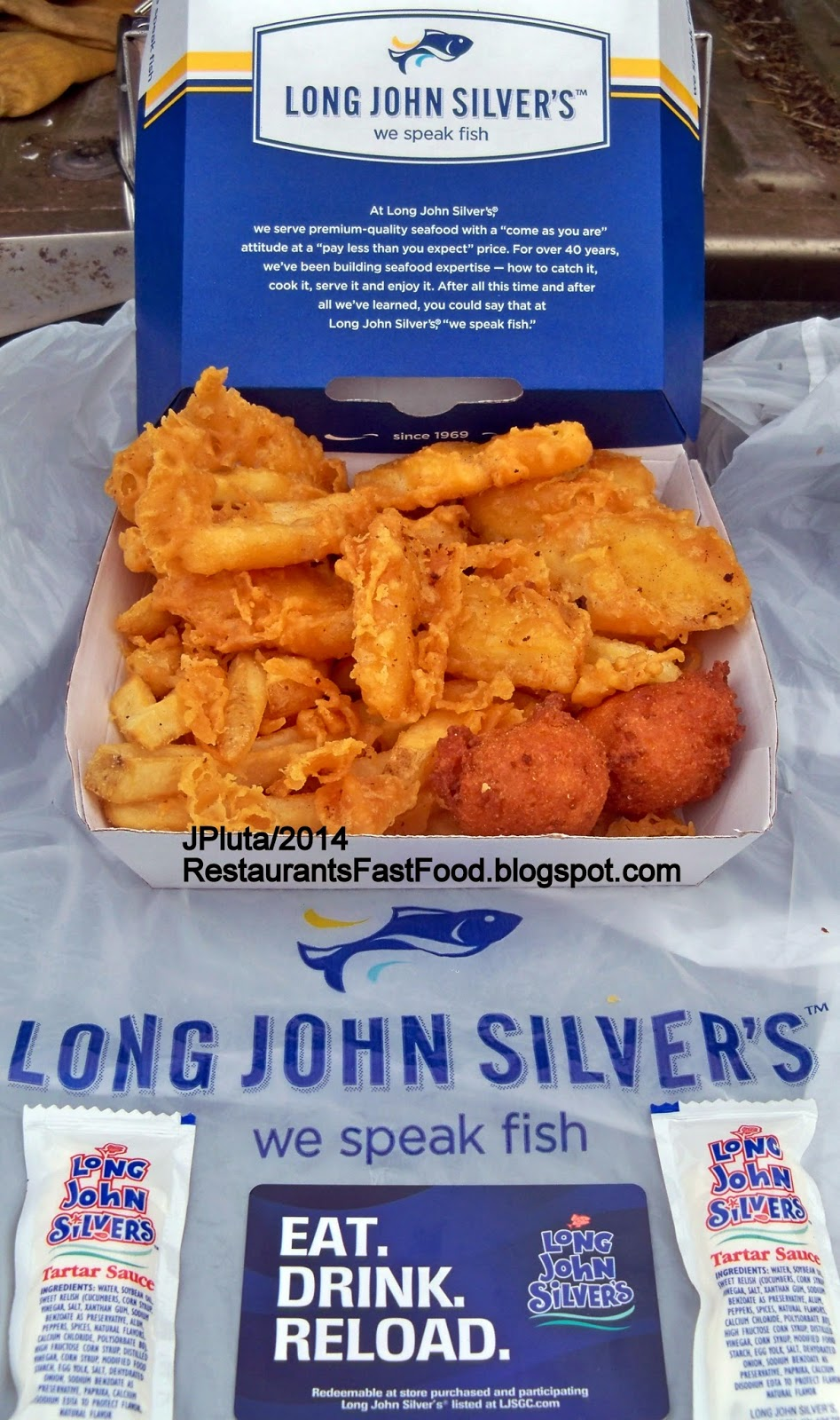 Long John Silver S Fast Food Seafood Restaurants Fish Bites