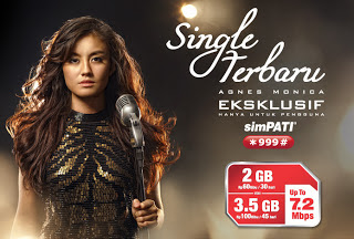 Download Single Lagu Agnes Monica di Soundtrack iklan Simpati Telkomsel