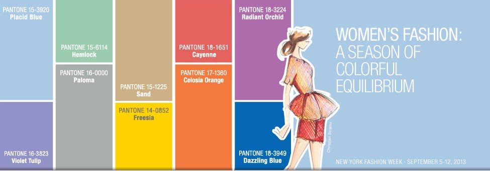 Pantone® Fashion Color Report Spring for 2014 | MyStylePurses.com
