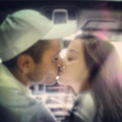 Derek Ramsay and Cristine Reyes Kissing Photo