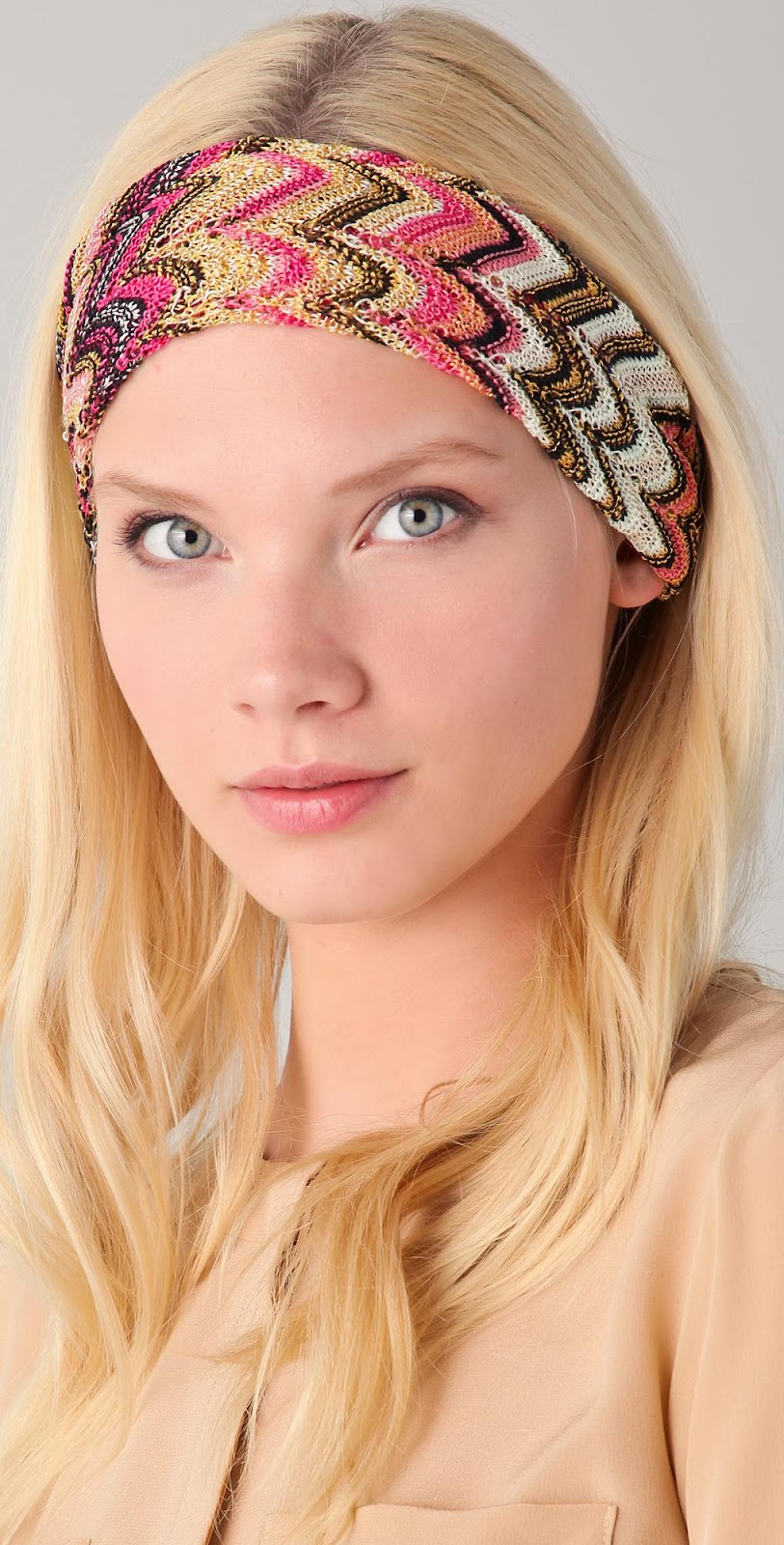Teenage Glam: Summer hair accessories