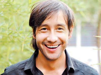 Luciano Pereyra con bella sonrisa