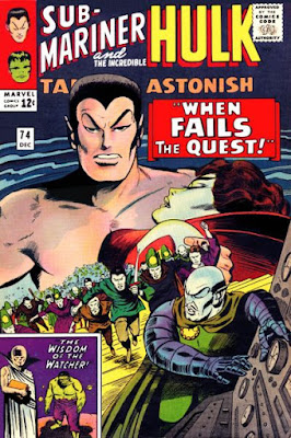 Tales to Astonish #74, the Sub-Mariner