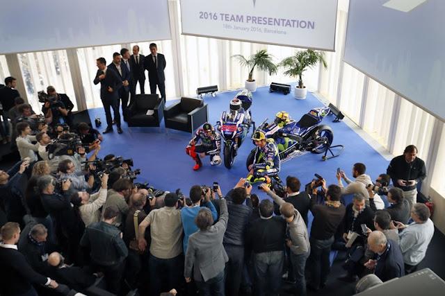 MotoGP : Yamaha memperkenalkan livery YZF M1 untuk MotoGP musim 2016 . .