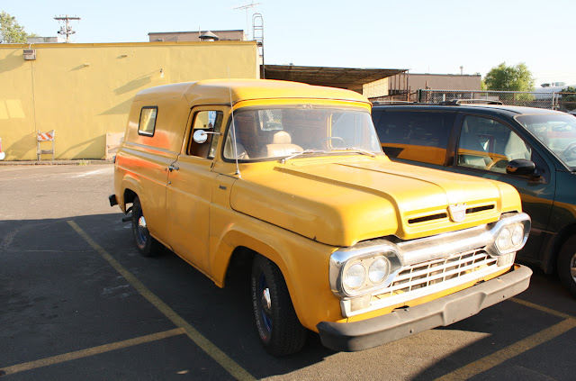 1960 Ford Panel Truck.