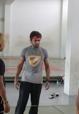 Surya Practising Martial Arts Exclusive