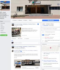 El IES José Saramago en Facebook