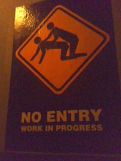 najsmesniji znakovi: nema ulaza rad u toku