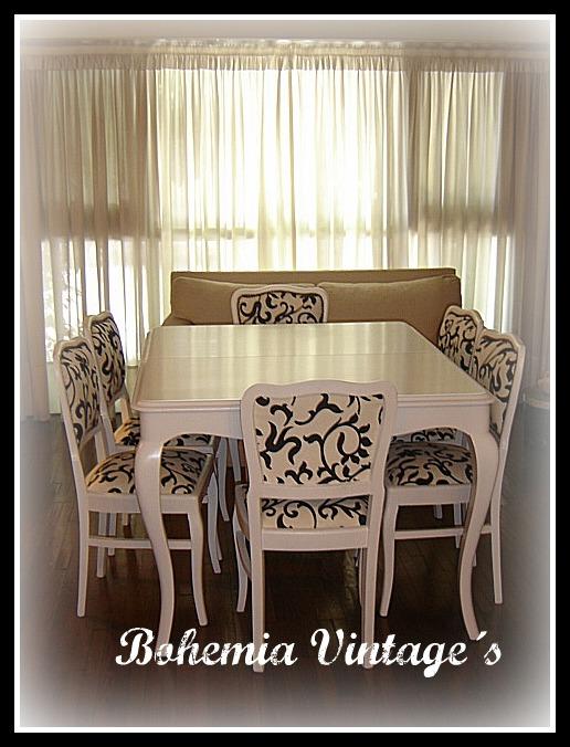 Entre tiempos y bohemia llego al fin bohemia vintage s - Mesas de comedor restauradas ...