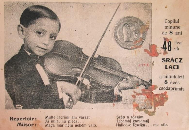 Sracz Laci - Copilul Minune de 8 ani