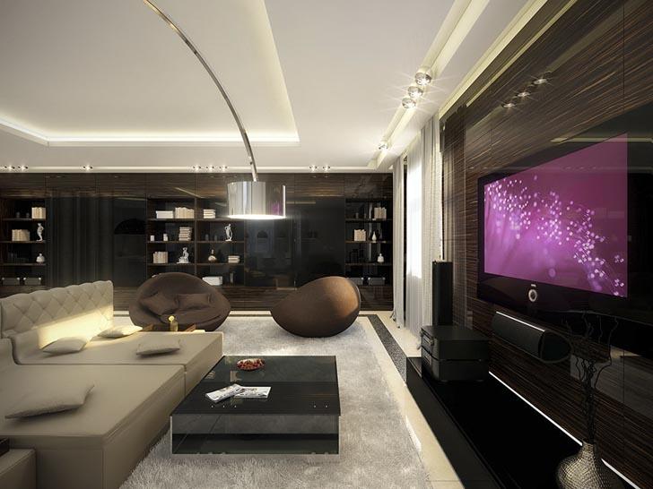 Salas Modernas y Elegantes | Ideas para decorar, diseñar y mejorar tu