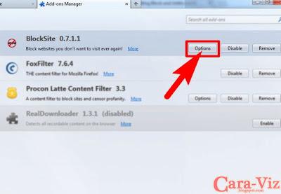 Cara Memblokir Website dan Situs-Situs Tertentu dengan Firefox Add-ons