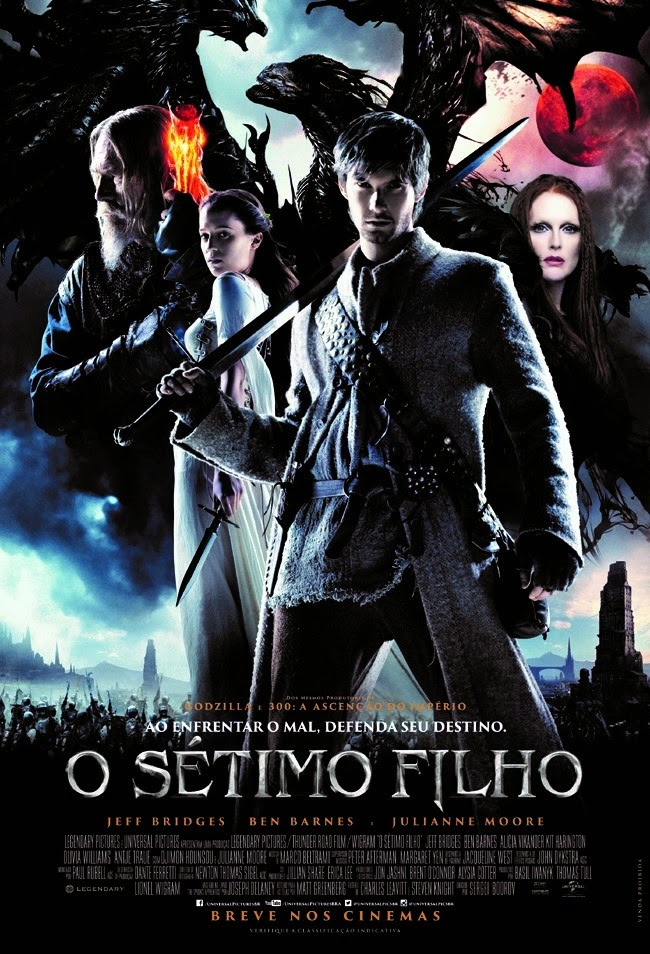 Pôster/capa/cartaz nacional de O SÉTIMO FILHO (Seventh Son)