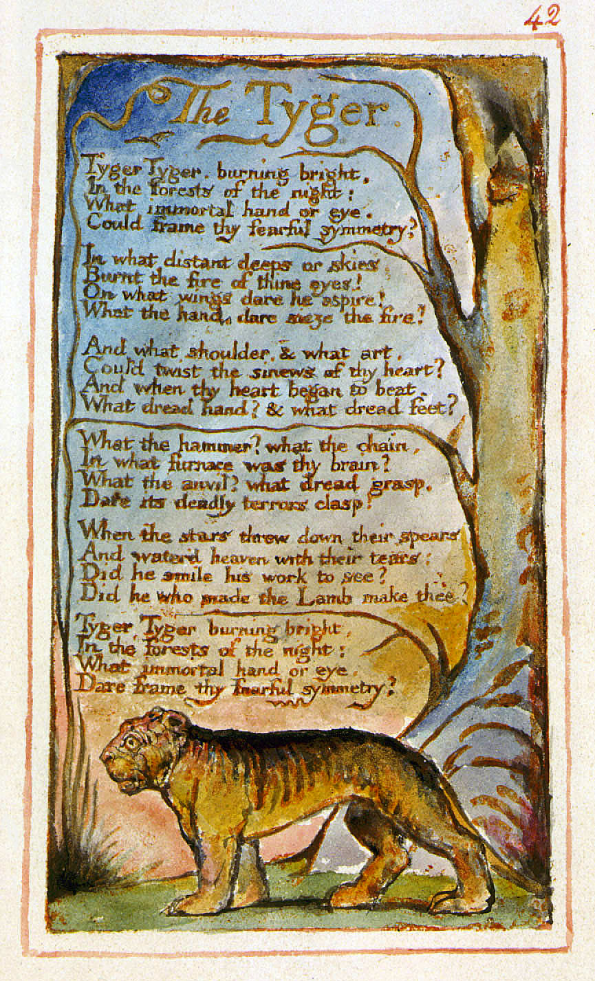 THE TYGER (from Songs Of Experience) By William Blake | Benjamin Britten – Songs and Proverbs of William Blake, Op. 74