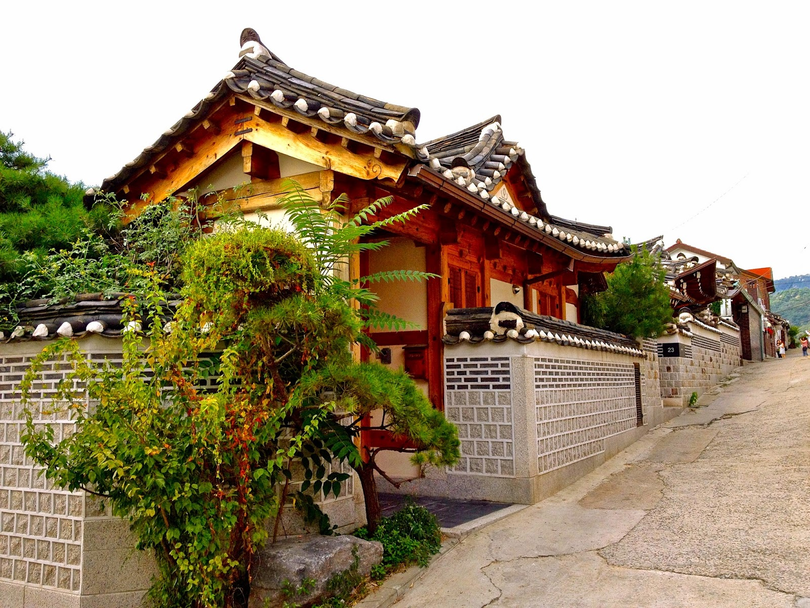 bukchon hanook traditional village seoul korea