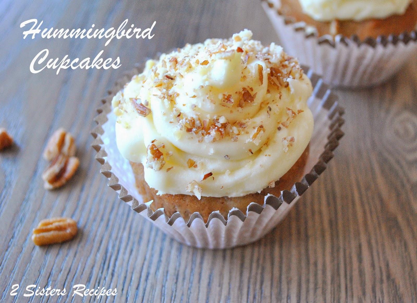 Hummingbird Cupcakes!