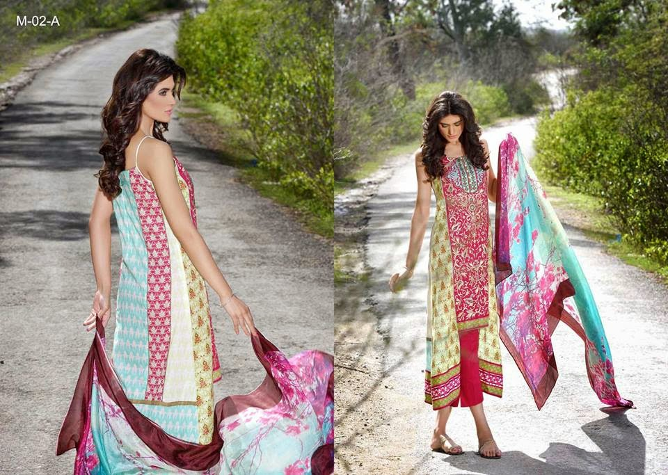 Mehdi Summer Lawn Collection 2015