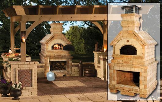 brick box image outdoor brick oven. Black Bedroom Furniture Sets. Home Design Ideas