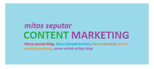 content marketing pemasaran melalui konten