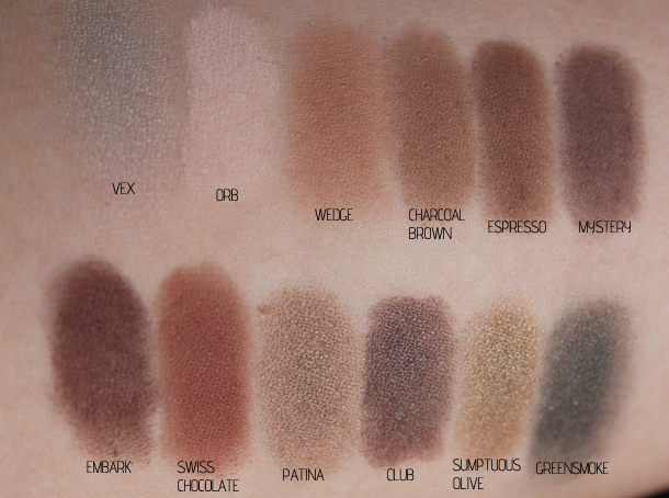 mac pro eyeshadow palette review swatches collection