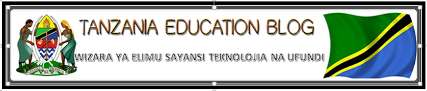 TANZANIA EDUCATION BLOG