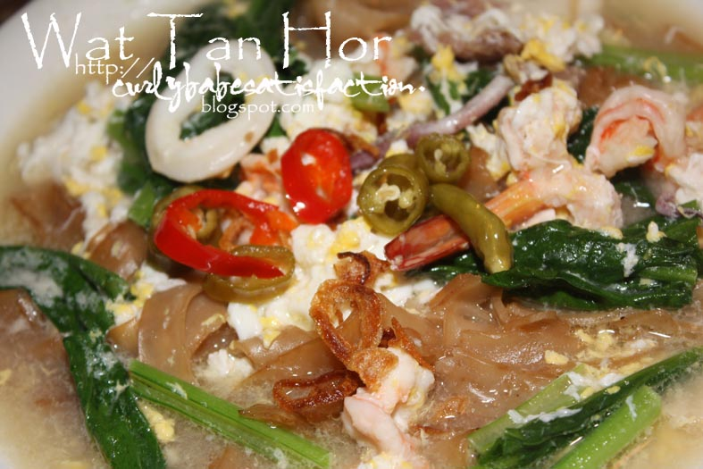 how to cook wat tan hor