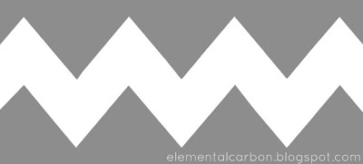Current image with chevron stencil printable